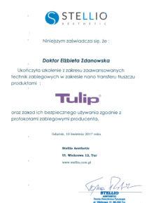 Certyfiat-Tulip-dr-Z